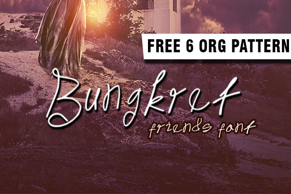 Print on Demand: Bungkret Script & Handwritten Font By ahmaddesign99