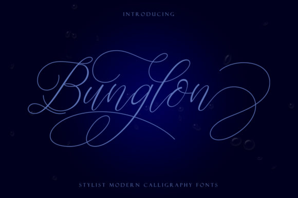 Print on Demand: Bunglon Script & Handwritten Font By sapre.studio