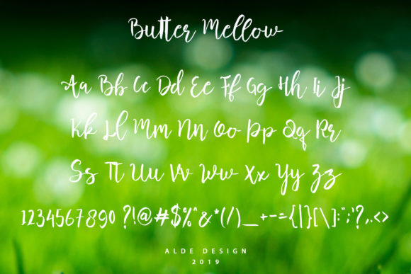 Butter Mellow Font By aldedesign Image 6