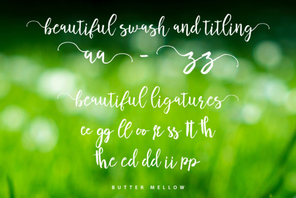 Butter Mellow Font By aldedesign Image 7