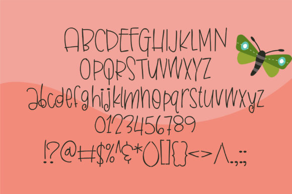 Download Free Butterfly Kisses Font By Illustration Ink Creative Fabrica for Cricut Explore, Silhouette and other cutting machines.