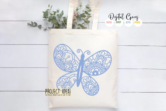 Butterfly Paper Cut Design Graphic Crafts By Digital Gems - Image 7