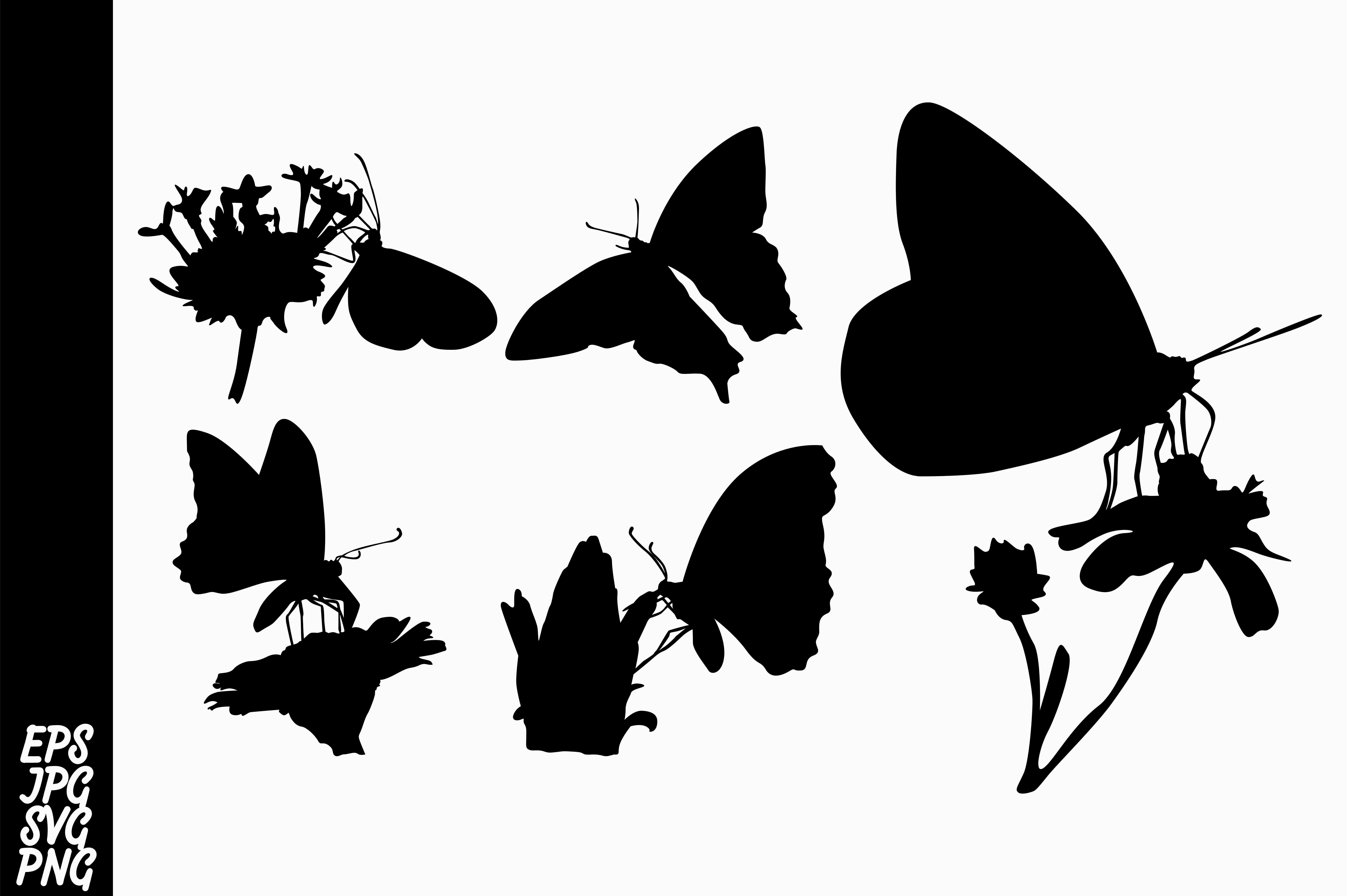 Download Free Butterfly Silhouette Svg Bundle Graphic By Arief Sapta Adjie Ii for Cricut Explore, Silhouette and other cutting machines.
