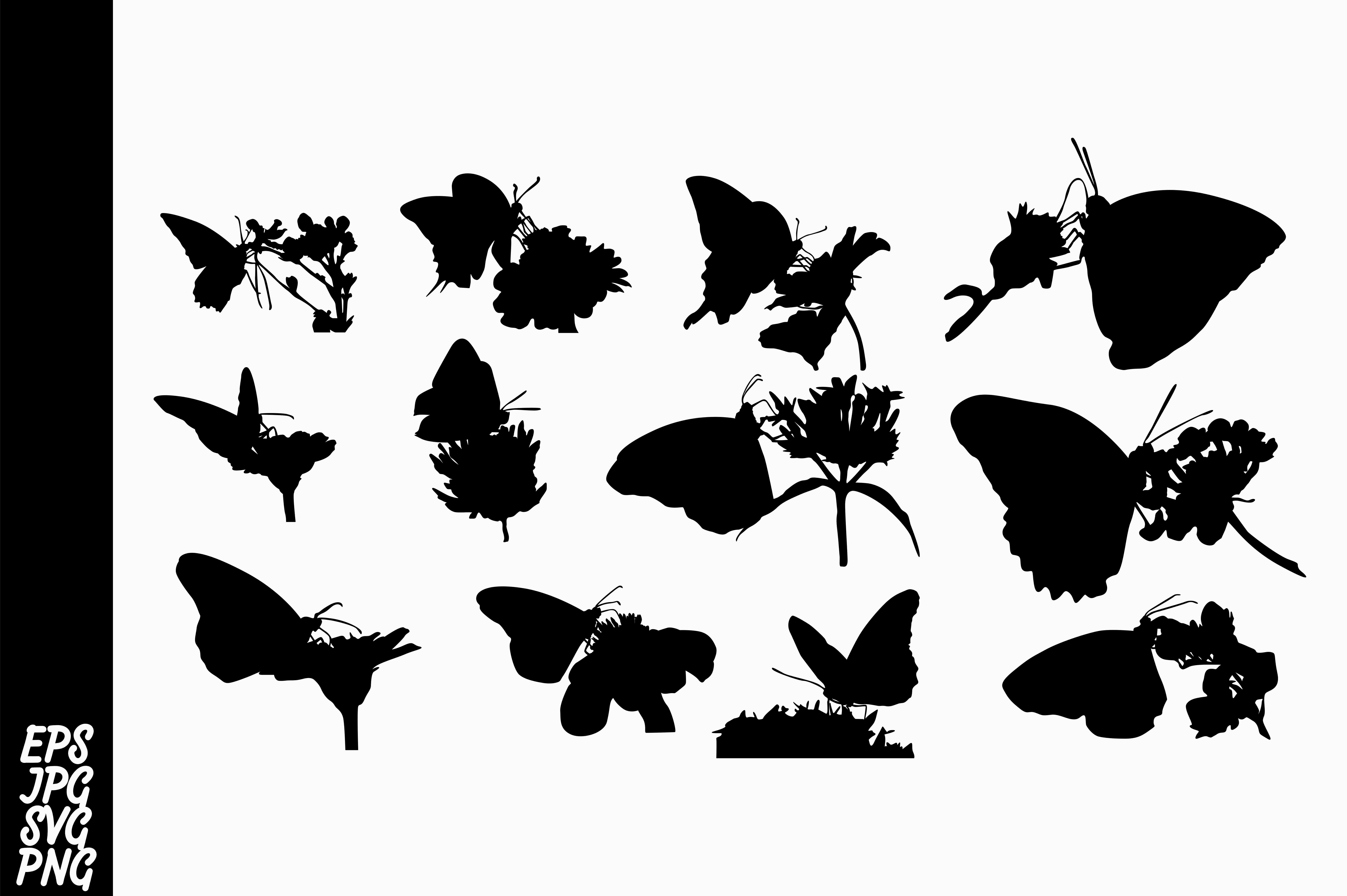 Download Free Butterfly Silhouette Svg Bundle Graphic By Arief Sapta Adjie for Cricut Explore, Silhouette and other cutting machines.