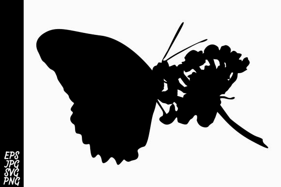 Download Free Butterfly Silhouette Svg Graphic By Arief Sapta Adjie Creative for Cricut Explore, Silhouette and other cutting machines.