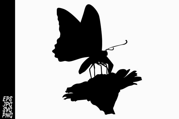 Download Free Butterfly Silhouette Svg Graphic By Arief Sapta Adjie Ii for Cricut Explore, Silhouette and other cutting machines.