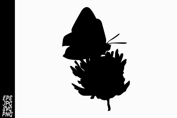 Download Free Butterfly Silhouette Graphic By Arief Sapta Adjie Creative Fabrica for Cricut Explore, Silhouette and other cutting machines.