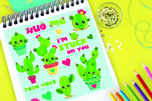 Print on Demand: Cactus Party Graphic Illustrations By Prettygrafik