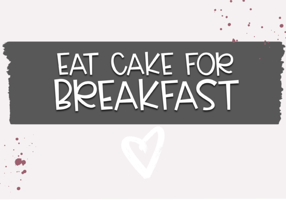 Download Free Cake Batter Font By Ka Designs Creative Fabrica for Cricut Explore, Silhouette and other cutting machines.