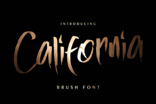 California Font By missinklab