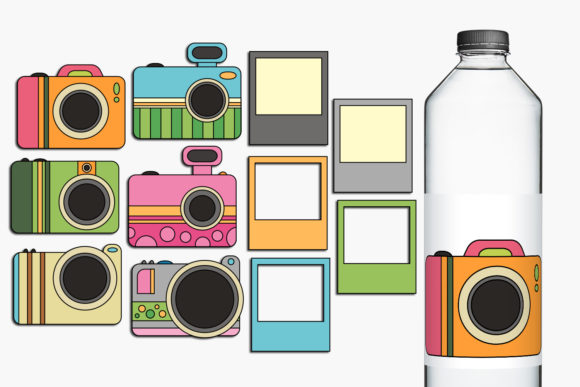 Print on Demand: Camera Graphic Illustrations By Revidevi
