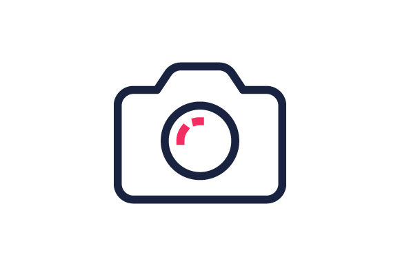 Download Free Camera Icon Graphic By Muhazdinata Creative Fabrica for Cricut Explore, Silhouette and other cutting machines.