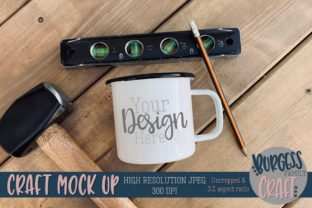 Camp Mug Tools Fathers Day Mock Up JPG Graphic By burgessfamilycraft