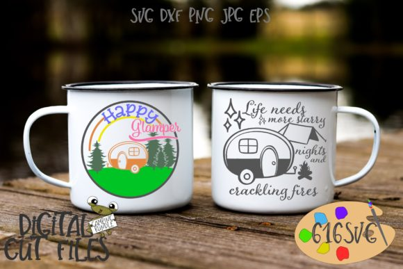 Download Free Camping Bundle With 12 Designs Svg Graphic By 616svg Creative for Cricut Explore, Silhouette and other cutting machines.