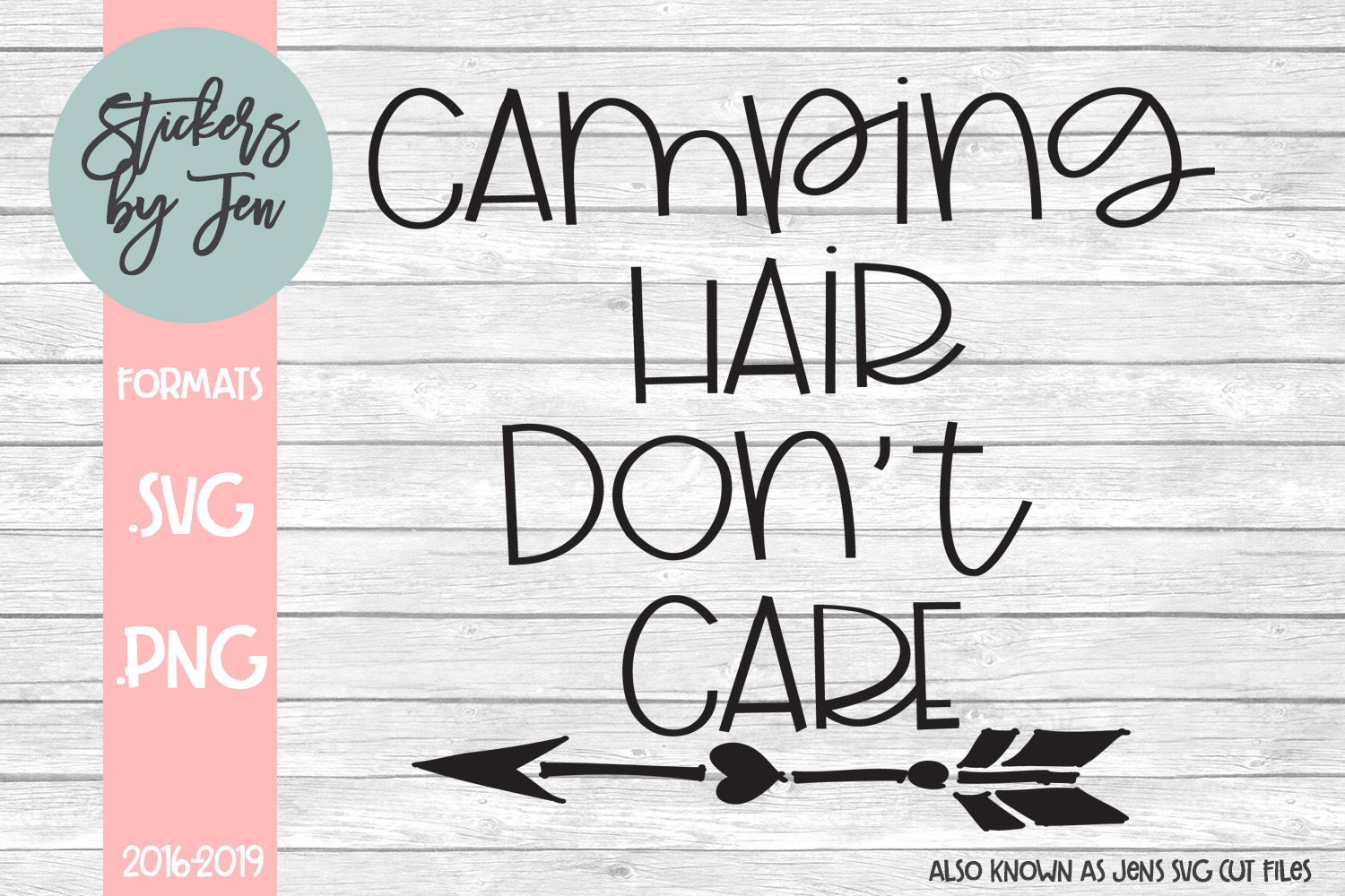Download Free Camping Hair Don T Care Svg Graphic By Jens Svg Cut Files for Cricut Explore, Silhouette and other cutting machines.