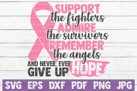 Cancer SVG Bundle | Awareness SVG Prints Graphic By MintyMarshmallows Image 19