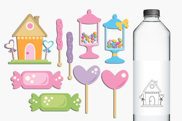 Print on Demand: Candy Store Graphic Illustrations By Revidevi