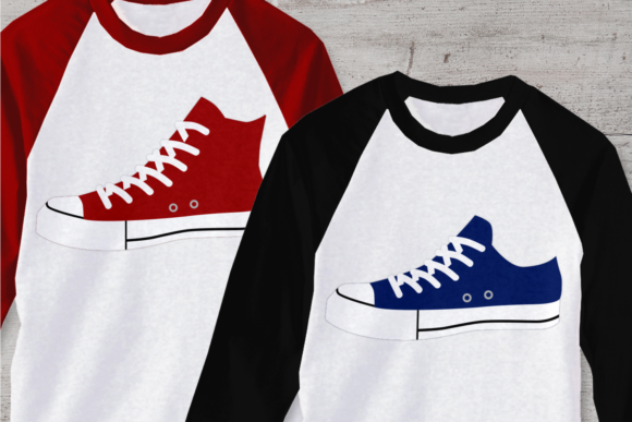 Canvas Sneakers Graphic Crafts By DesignedByGeeks