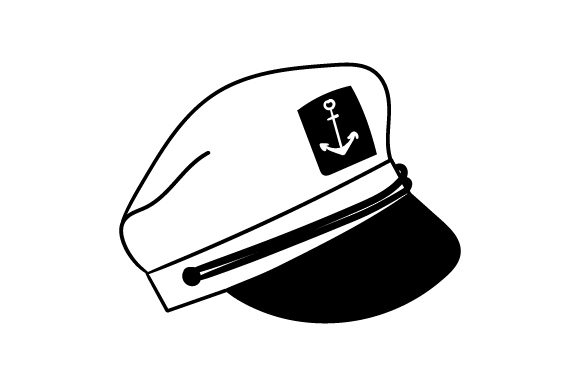 Captain Hat Nautical Craft Cut File By Creative Fabrica Crafts - Image 2