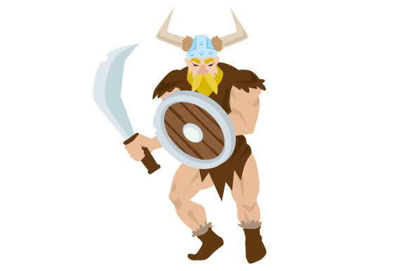 Download Free Cartoon Viking Man Svg Cut File By Creative Fabrica Crafts for Cricut Explore, Silhouette and other cutting machines.