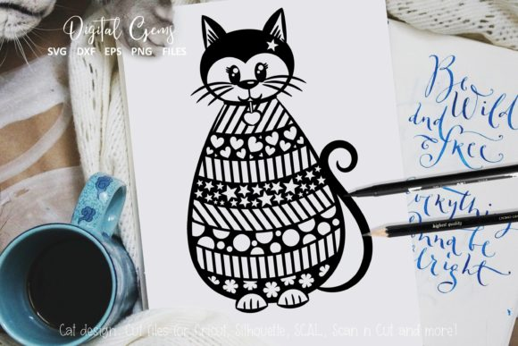 Cat Design Graphic Crafts By Digital Gems - Image 1