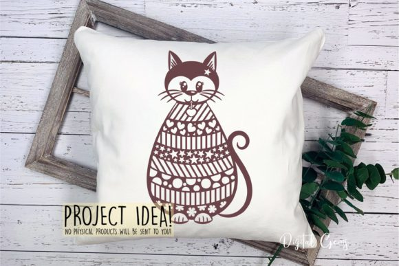 Cat Design Graphic Crafts By Digital Gems - Image 2
