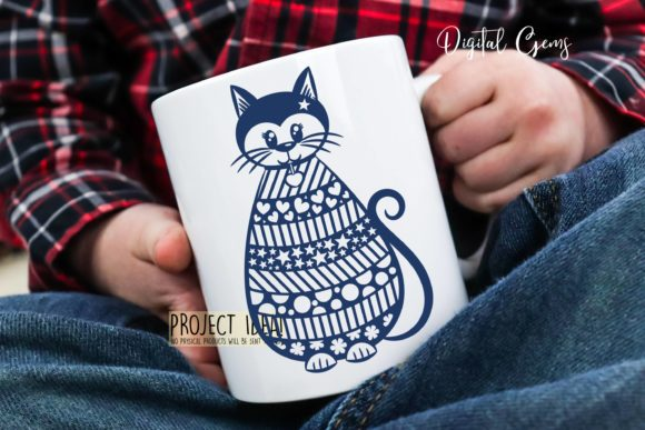 Cat Design Graphic Crafts By Digital Gems - Image 3