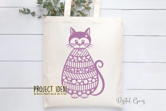 Cat Design Graphic Crafts By Digital Gems - Image 4