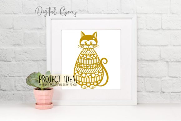 Cat Design Graphic Crafts By Digital Gems - Image 5