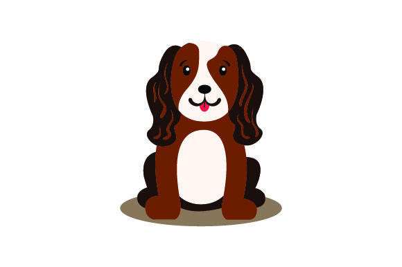 Cavalier King Charles Spaniel Dog Animals Craft Cut File By Creative Fabrica Crafts - Image 1
