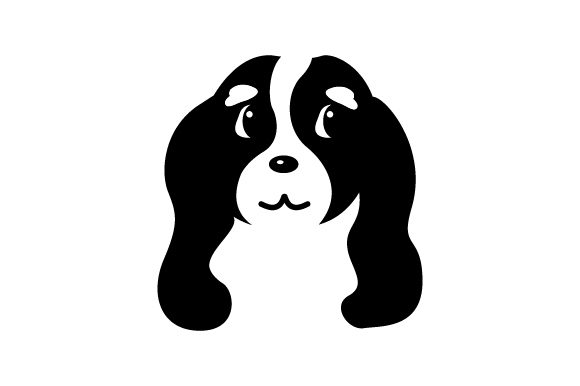 Download Free Cavalier King Charles Spaniel Dog Svg Cut File By Creative for Cricut Explore, Silhouette and other cutting machines.