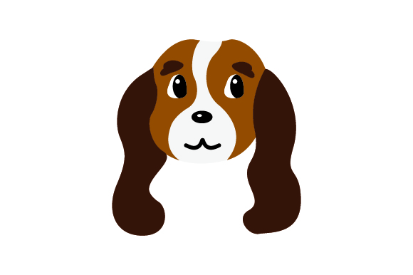 Download Free Cavalier King Charles Spaniel Dog Archivos De Corte Svg Por for Cricut Explore, Silhouette and other cutting machines.