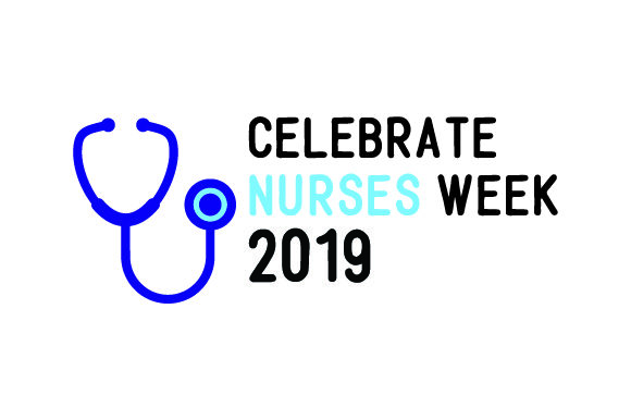 Download Free Celebrate Nurses Week 2019 Svg Cut File By Creative Fabrica for Cricut Explore, Silhouette and other cutting machines.