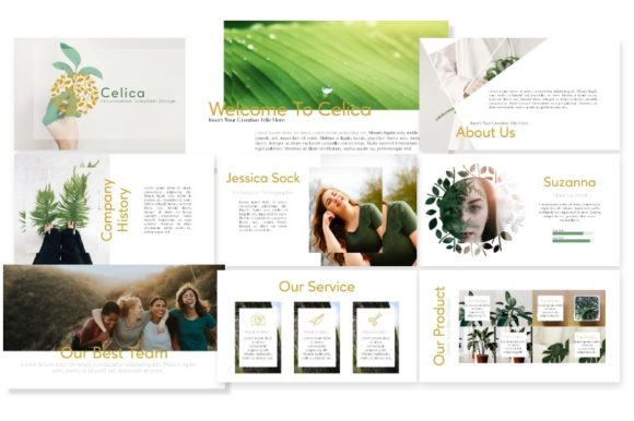 Download Free Celica Powerpoint Template Graphic By Artdreamerstudio for Cricut Explore, Silhouette and other cutting machines.