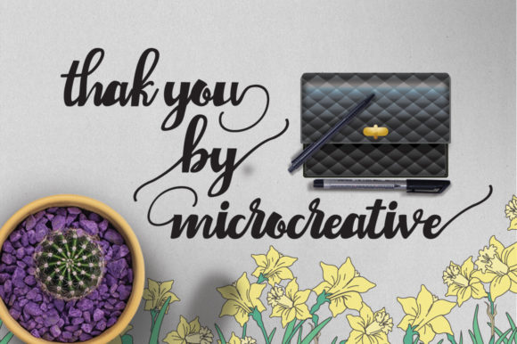 Print on Demand: Chaiden Script & Handwritten Font By Microcreative - Image 7
