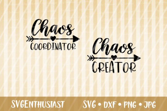 Download Free Chaos Coordinator Chaos Creator Svg Graphic By Svgenthusiast for Cricut Explore, Silhouette and other cutting machines.