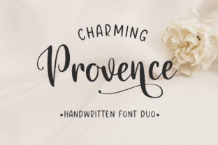 Charming Provence Font By Pasha Larin