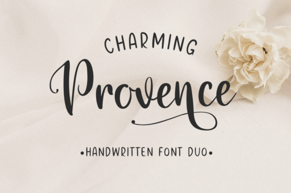 Charming Provence Script & Handwritten Font By Pasha Larin