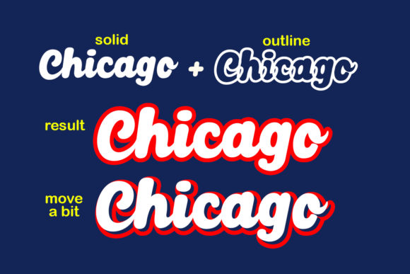 Print on Demand: Chicago Script & Handwritten Font By Lettersiro Co. - Image 2