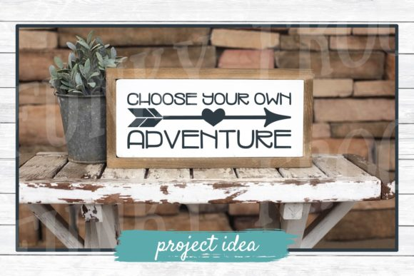 Download Free Choose Your Own Adventure Grafico Por Funkyfrogcreativedesigns for Cricut Explore, Silhouette and other cutting machines.