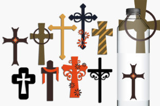 Christian Crosses Graphic By Revidevi
