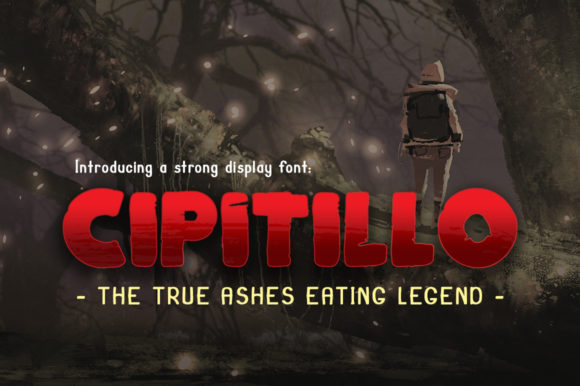 Cipitillo Display Font By DonMarciano