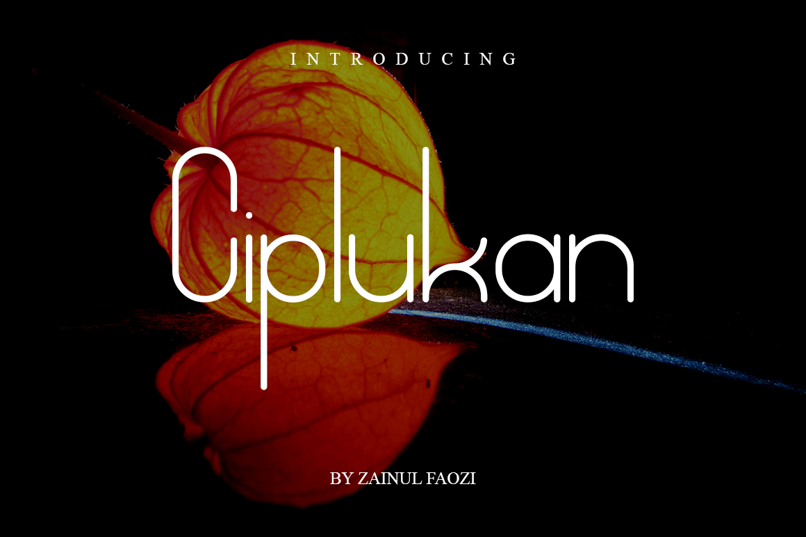 Download Free Ciplukan Font By Enong03 Creative Fabrica for Cricut Explore, Silhouette and other cutting machines.
