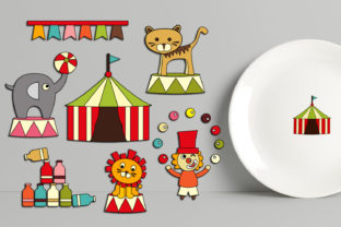 Circus Show Graphic By Revidevi