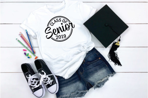 Download Free Class Of 2019 Senior Svg Cut File Graphic By Oldmarketdesigns Creative Fabrica for Cricut Explore, Silhouette and other cutting machines.