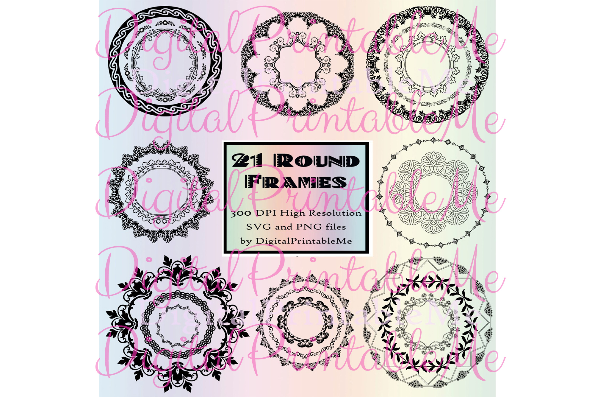 Download Free Clip Art Frames Border 21 Art Deco Svg Graphic By for Cricut Explore, Silhouette and other cutting machines.