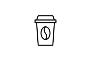 Coffee Icon Graphic Icons By Three Whizz