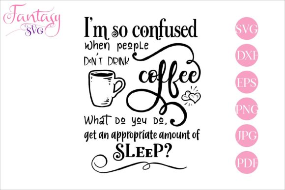 Print on Demand: Coffee Lover Svg Cut Files for Cricut Graphic Crafts By Fantasy SVG