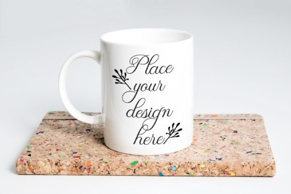 Print on Demand: Coffee Mug Mockup 11 Oz  Sublimation Cup Graphic Product Mockups By Leo Flo Mockups