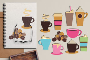 Coffee Cups and Mugs Graphic By Revidevi